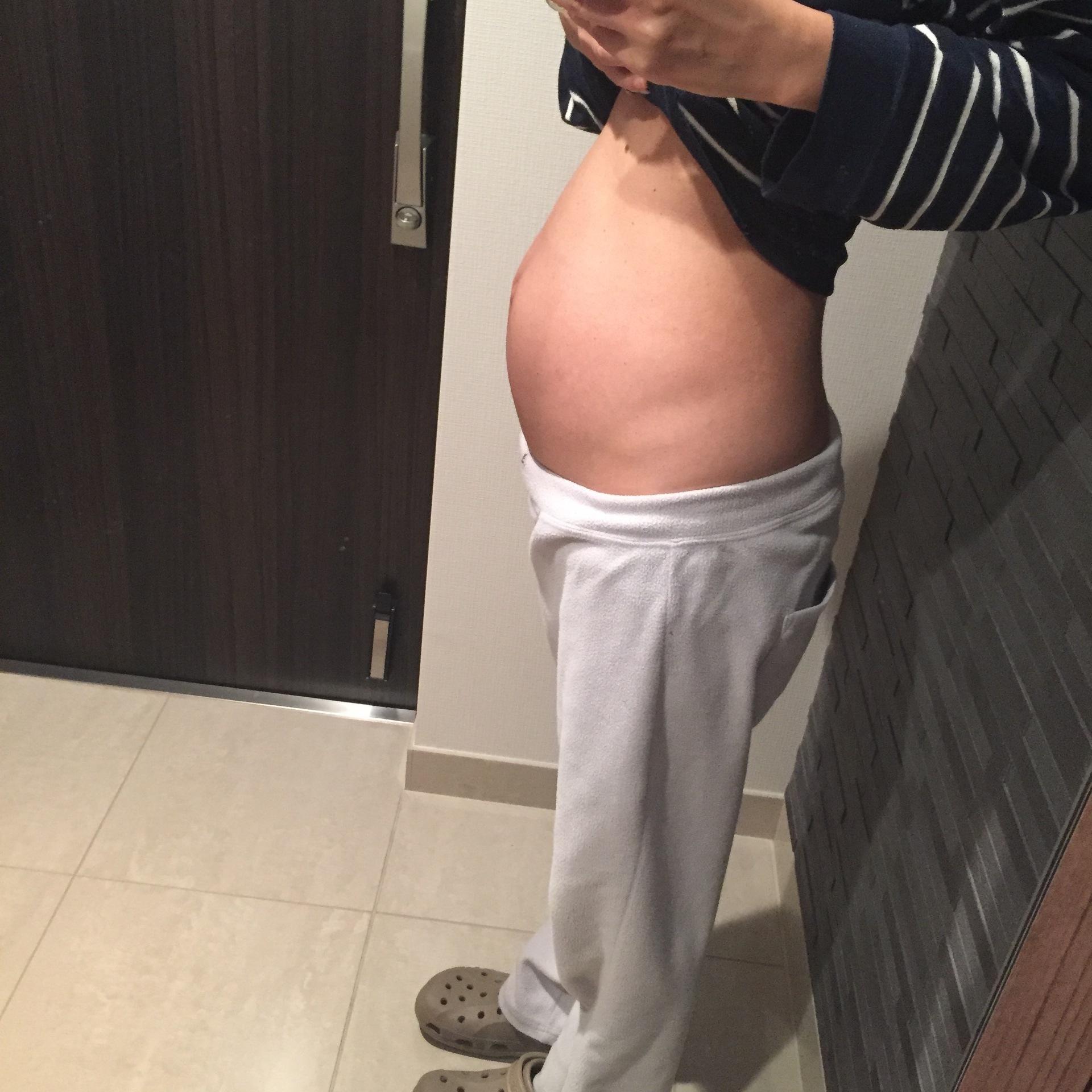 妊娠15週 お腹